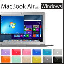 最新 Mac OS X と Windows10 が 同時に使える Macbook Air !! 13 inc / Corei5 / mem4GB / SSD128GB mac book で Windows の office 等..