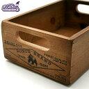 ダルトン[DULTON]ウッデンストッカーボックス(全1色)生活雑貨 アンティーク雑貨 アメリカン雑貨 ナチュラル 木箱 収納ボックス 小物入れ パイン材 木製ボックス(18-CH14H500NT)