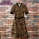ショッピングサボイ SVY CLOTHINGサボイクロージング◆SVY Leopard Audrey One piece◆SVY-OP107