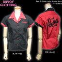 ショッピングサボイ SAVOY CLOTHINGサヴォイクロージング◆SVY El Diablo LadiesBowling Shirts◆SVY-LSH079
