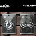 ACE CAFE'エースカフェ◆ACE CAFE' WAPPEN◆刺繍ワッペン◆ACE CAFE/ROCKERS◆