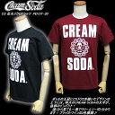 CREAM SODAクリームソーダ◆CS 花丸ドクロTシャツ◆PD15T-20