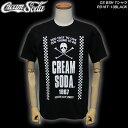 CREAM SODAクリームソーダ◆CS BSH Tシャツ◆PD16T-13BLACK