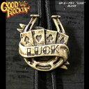 ◆GOOD ROCKIN'グッドロッキンループタイLUCKBLACK
