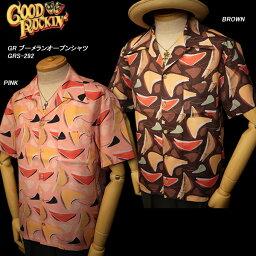 GOOD ROCKIN'グッドロッキン◆GR ブーメランオープンシャツ◆GRS-292