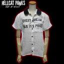◆HELLCAT PUNKSヘルキャットパンクスガーゼシャツ