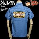 SKULL WORKSスカルワークス◆SW×BB  ベティーズワッペン・ワークシャツ ◆121610