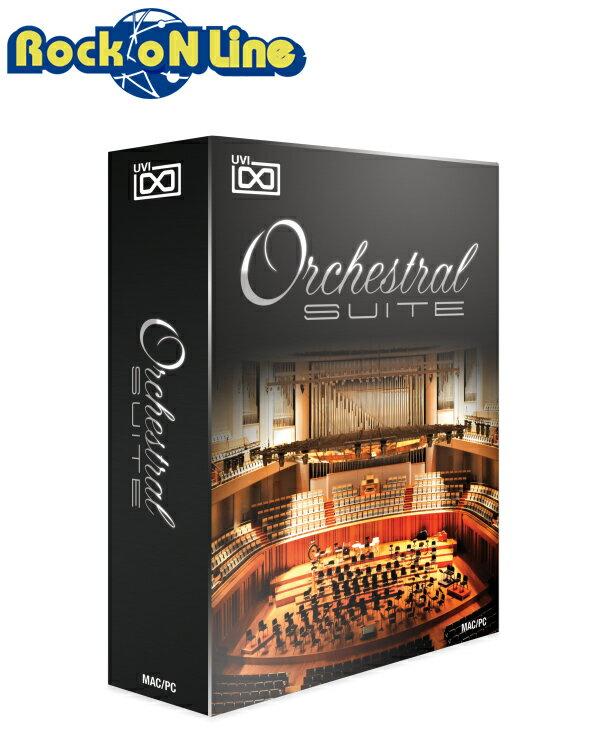UVI Orchestral Suite【★BlackFridayセール品!在庫限り特価!】