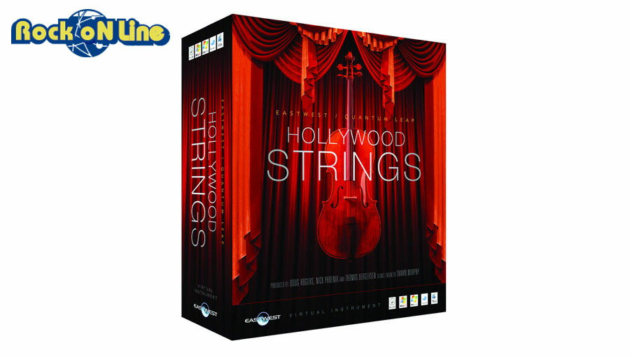 East West HOLLYWOOD STRINGS Diamond Edition (Windowsフォーマット) 【在庫限り特価!】