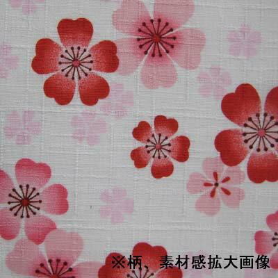 お祭用品 喧嘩かぶり 桜 [176白]の紹介画像3