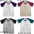 """Disney(ディズニー) ラグラン半袖Tシャツ """"SILHOUETTE"""" 9220-3671"""