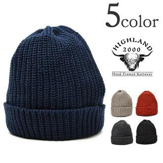 2000 高地 (高地 2000) cottennitcap / 卡蒙帽 / 單羅紋母雞 / 半開襟針針織棉帽 / 針織帽 / 男裝 / 女裝