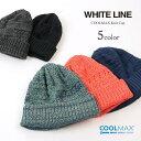 WHITE LINE(ホワイトライン) クールマックス ニットキャップ / メンズ レディース / 日本製 / COOLMAX KNIT CAP