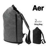 AER(エアー) スリングバッグ / ショルダーバッグ / 斜めがけ 肩掛け / 軽い 小さい / ジム / メンズ レディース / SLING BAG