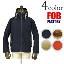 FOB FACTORY(エフオービーファクトリー) F2295 MARIN PARKA マリンパーカー 【あす楽】
