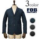 FOB FACTORY(FOBファクトリー) F2328 リラックステイラードジャケット / テーラードジャケット / RELAX TAILORED JACKE...