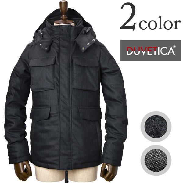 DUVETICA(デュベティカ) ダウンジャケット M-65 フィタロ デュエ / ウール ダウンパーカー メンズ / FITALO DUE
