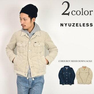 NYUZELESS (newsless) 燈芯絨騎手羽絨服 / 風暴騎士夾克 / 男裝 / 日本製造