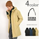 SIERRA DESIGNS(シェラデザイン) 60/40クロス フーデットロングコート / パーカー / メンズ / HOODED LONG COAT
