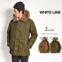 WHITE LINE(ホワイトライン) オイルドコットン ダウンコート / ダウンジャケット / メンズ / 日本製 / OILED COTTON DOWN COAT WLJ-1..