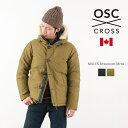 OSC CROSS(オーエスシークロス) ボーモント ダウンジャケット / ショート / ミリタリー / メンズ / カナダ製 / M41CX BEAUMONT MENS