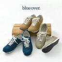 BLUEOVER (ブルーオーバー) スエード スニーカー / マイキー MIKEY / メンズ レディース / ユニセックス / スウェード レザー / ローカット / 靴 / 日本製