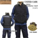UNITED CARR ユナイテッドカー by BUZZ RICKSON'S東洋エンタープライズベスト『FIELD PADDING VEST』UC12578【楽ギフ_包装】【RCP】【s..