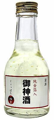 じょっぱり御神酒[180ml](純金箔入)