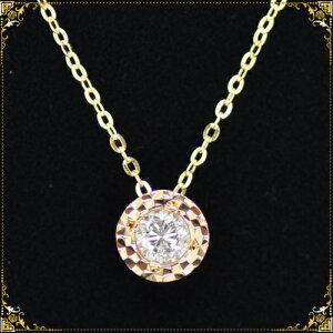 ダイヤモンド ペンダント ネックレス カラット プチネックレス