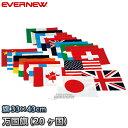 【EVERNEW・エバニュー】万国旗20 EKA381 20ヶ国セット ※旗のみ 運動会