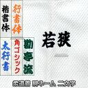 【柔道】柔道着ネーム刺繍 腕ネーム(肩ネーム) 2文字 NU2 柔道衣 肩刺繍