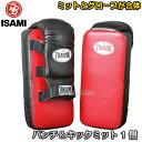 【ISAMI・イサミ】パンチ&キックミット 1個 BX-43(BX43)■空手■格闘技■タイサマイ