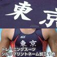 【NISHI ニシ・スポーツ】トレーニングスーツ・ランニングシャツ ネーム加工 シルクプリント 1色 英文 版代■マーキング■チームオーダー