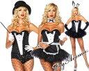 【期間限定SALE】Leg Avenue(レッグアベニュー)スパンコールタキシードデザインコルセット2654 黒白 バニーガール メイド コスプレ コスチューム ダンス衣装 マジシャン 手品 ステージ