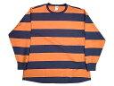 ★SALE 20%OFF★ VOTE Make New Clothes ヴォート メイク ニュー クローズ MARINE STRIPE FAT L/S TEE マリンストライプ ロングスリーブ Tシャツ