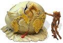 サルバドール・ダリ の作品より、新人類の誕生を見つめる地政学の子供 ラージ彫像/Geopolitical Child Watches Birth New Human(輸入品