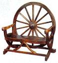 【新商品・輸入家具】天然木使用デザインベンチチェア