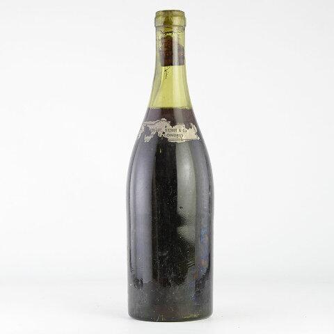 [1940s] ドメーヌ・ド・ラ・ロマネ・コンティ DRC ラ・ターシュ ※ラベル無しフランス / ブルゴーニュ / 赤ワイン[のこり1本]