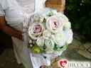 楽天ROMANTIC造花 ブーケ ウエディングブーケ 6点セットウェディングブーケセット ドレス 誕生日 プレゼント 女性 花束 結婚式 披露宴 の花嫁 新婦さんにブーケと花かんむり ヘッドドレスを。結婚祝いや誕生日に可愛い花のプレゼント を
