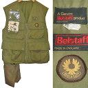 Belstaff 60's VINTAGE Castmaster fly fishing vest 英国製 ベルスタッフ キャストマスター(フィッシィング ベスト)【中古】【RCP】