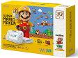【中古】 WiiU SUPER MARIO MAKER SUPER MARIO BROS 30TH SET 32GB shiro