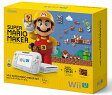 【中古】 WiiU SUPER MARIO MAKER SET 32GB shiro