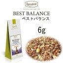 ベストバランス 6g【ロンネフェルト】朝鮮人参の入った元気の出るティー ハチミツのような甘い香りもあります ノンカフェイン