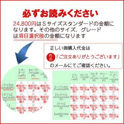 マットレスポケットコイル【西川ベッド製造】選べる!サイズとグレードスタンダードEXレギュラー(ソフト・ハード・レギュラー)7ゾーンナノテック商品名:AN-MINGポケットコイルマットレス