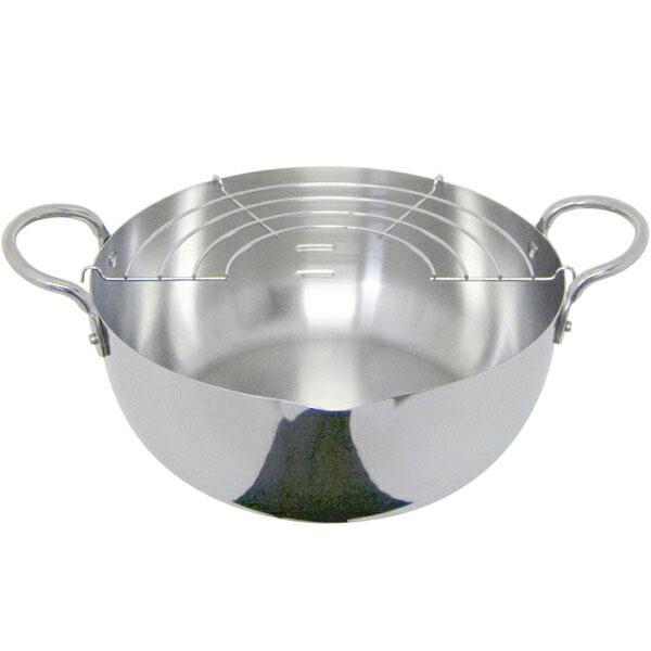 ウルシヤマ金属 揚げ鍋 22cm