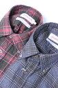SOUTIENCOL(スティアンコル) Sanfrancisco 2014 Canclini ミニチェックネル B/D Shirts 2color【Men's】