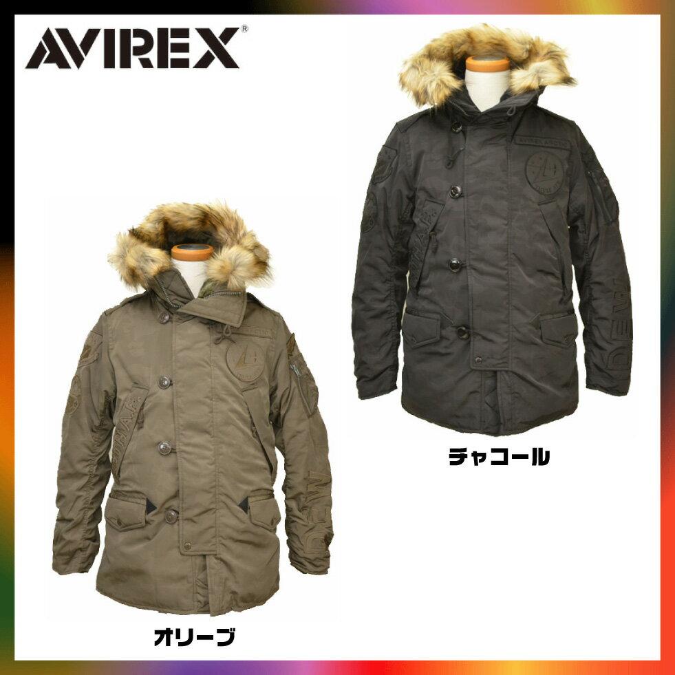 AVIREX アビレックス n3b n-3b DEW 6162158 ジャケット 迷彩 カモフラ