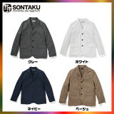 SONTAKU�����󥿥������å����ե����������륷��ĥ��㥱�åȡ�Oxford washable 3button jacket��851HD15968