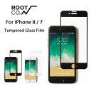 iPhone8 iPhone7 ガラスフィルム GRAVITY Tempered Glass Film