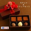 生チョコとトリュフセット バレンタイン 詰め合わせ 生チョコ...